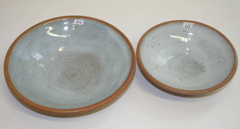 "Peter Swanson 9"" large shallow bowl"