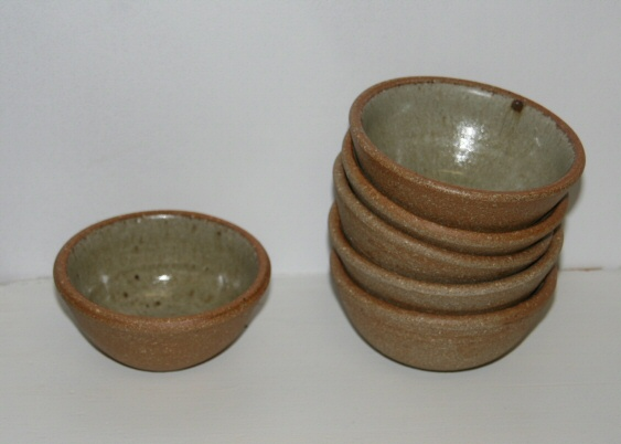 Peter Swanson Dips bowl ASH GREEN