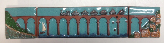 Calstock viaduct (3 tiles)