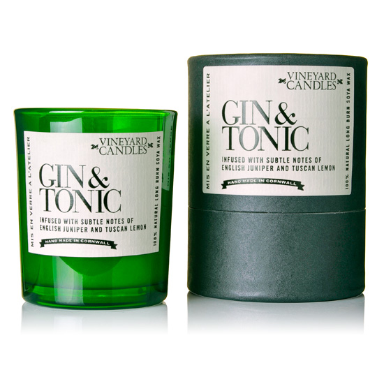 Gin and Tonic Candle (shot glass)