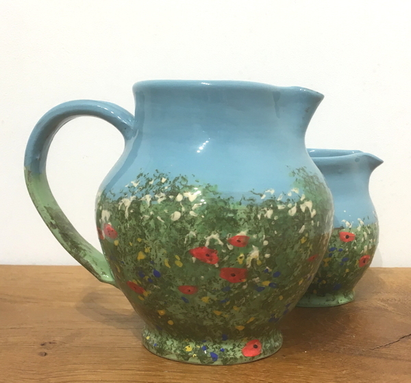 Large Jug (summer meadow)
