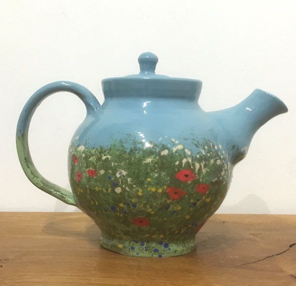 Tea pot (summer meadow)