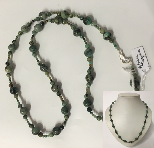 African Turquiose Necklace