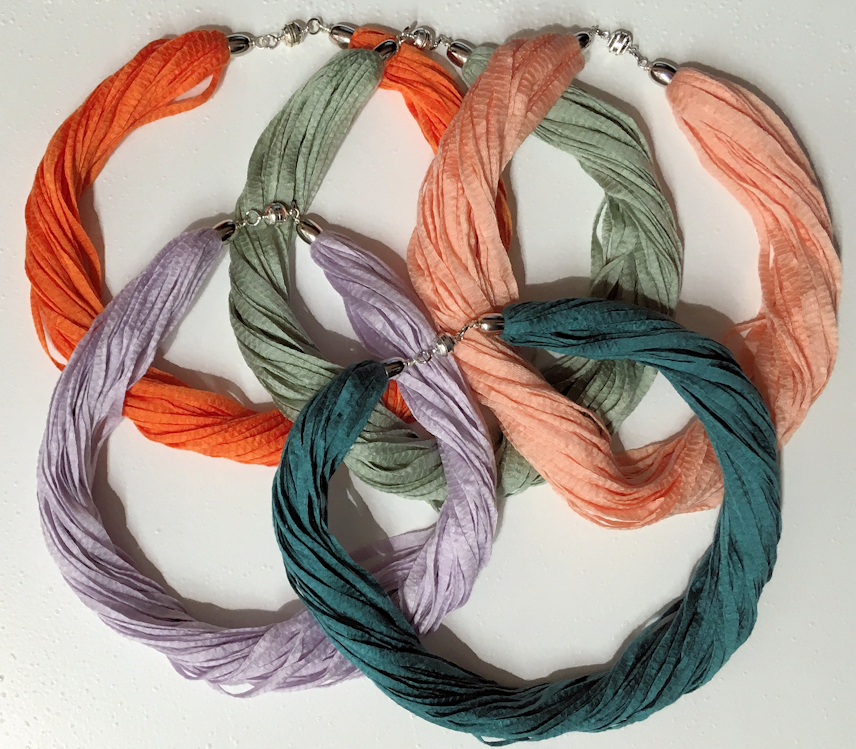 Eucalypyus fibre Necklaces