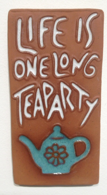 Life's one long tea party